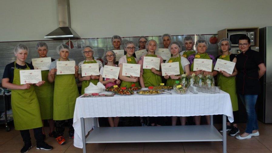 Warsztaty kulinarne dla uczniów podstawówek