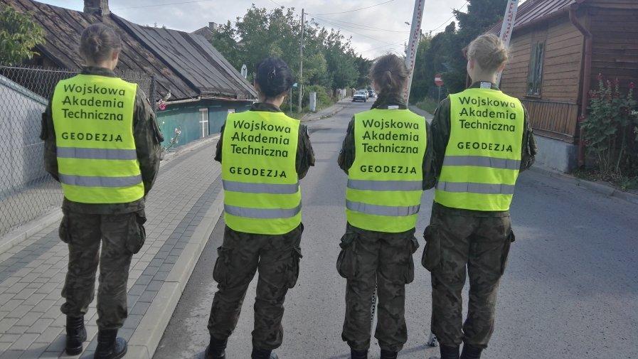 Studenci WAT-u w Opatowie
