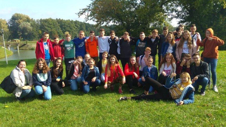 Rajd integracyjny uczniów Bartosza