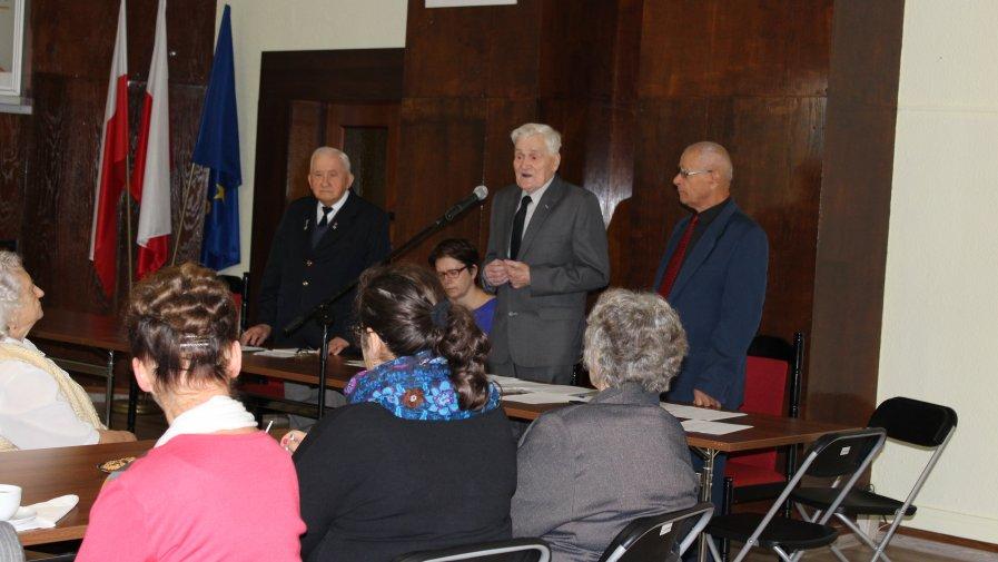 Spotkanie opatowskich kombatantów