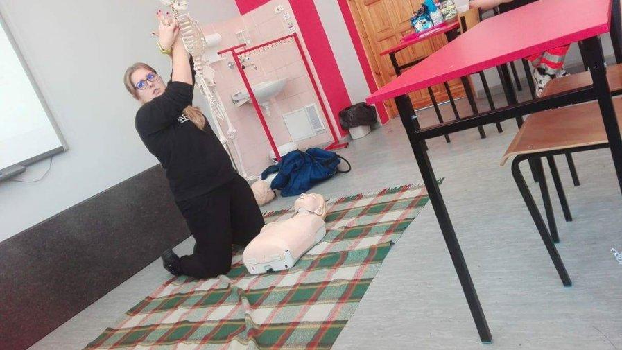 Ćwiczyli udzielanie pierwszej pomocy