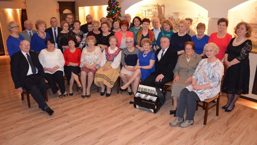 Noworoczne spotkanie opatowskich seniorów