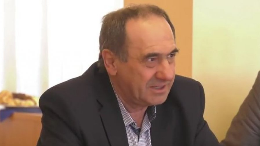 Bogusław Włodarczyk, starosta opatowski na Konwencie Starostów w Ostrowcu Świętokrzyskim