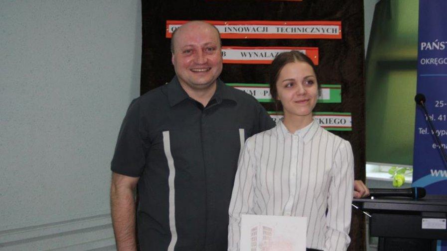 """Licealistka z """"Bartosza"""" w eliminacjach centralnych Olimpiady Innowacji Technicznych i Wynalazczości"""