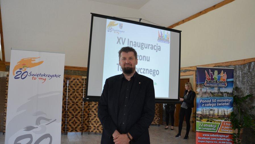 Powiat Opatowski reprezentował dyrektor Powiatowego Centrum Kultury, Turystyki i Rekreacji w Opatowie, Mariusz Szwajkowski.