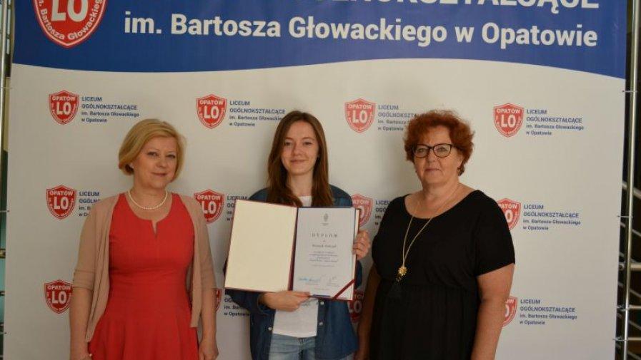 Weronika Sobczyk nagrodzona