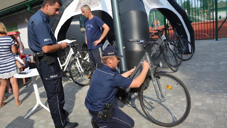 Znakowanie rowerów w powiecie opatowskim