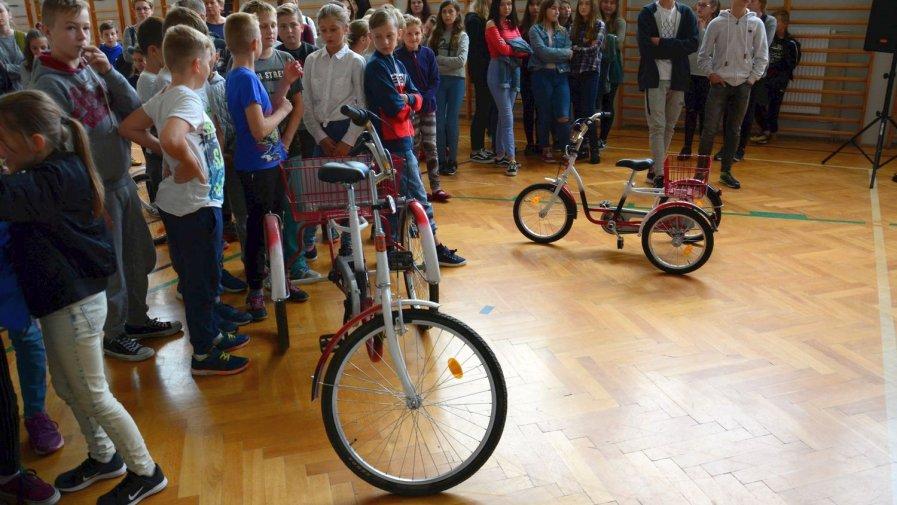 Można wypożyczyć rowery w Sadowiu