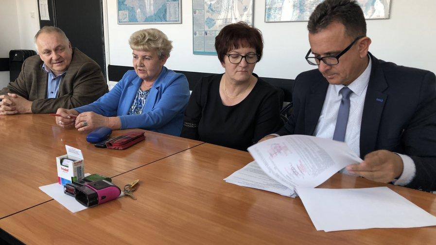 Powiat pomógł gminie Iwaniska