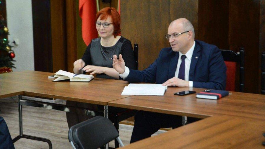 Narada dyrektorów placówek zajmujących się pomocą społeczną w powiecie opatowskim