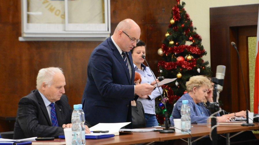 Tomasz Staniek, starosta opatowski o budżecie na 2019 roku mówił, że jest realny i stabilny.