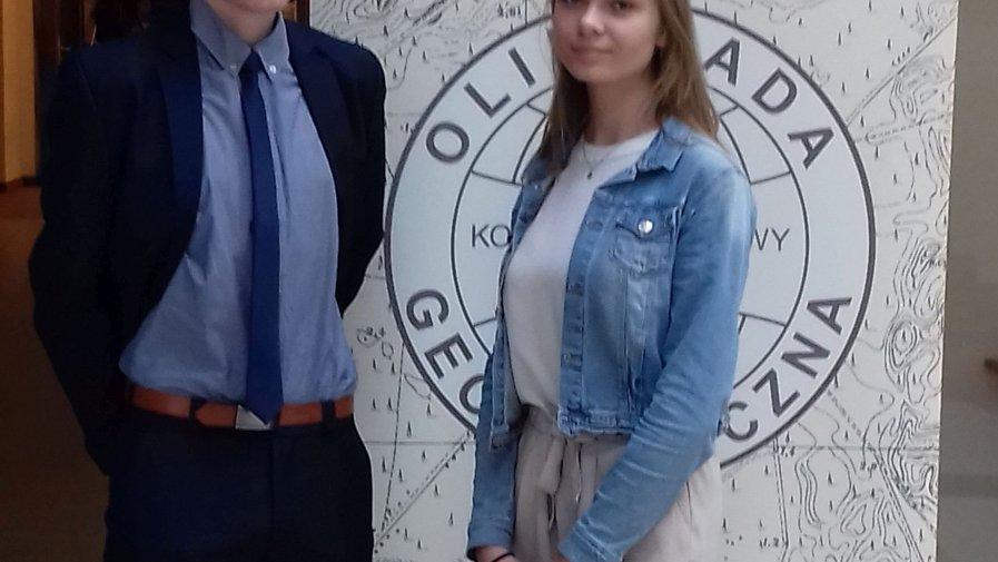 """Sukces uczniów """"Bartosza"""" w Olimpiadzie Geograficznej"""