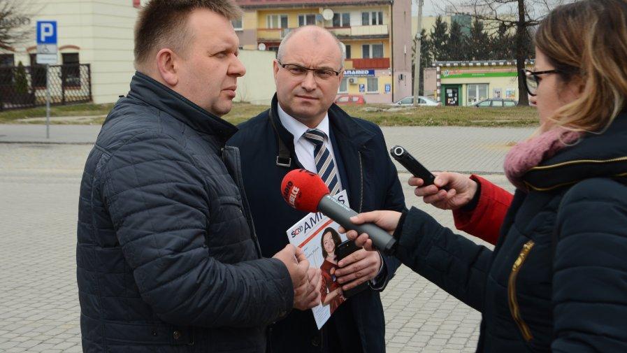 Konferencja prasowa o profilaktyce nowotworowej kobiet w powiecie opatowskim