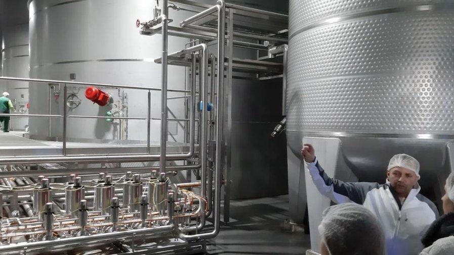 Najnowocześniejsza i największa w Polsce przetwórnia jabłek Dreher Poland Koprzywnica, bez tajemnic dla pierwszaków z Logistyka